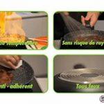 Lot de 3 Poêles 20 / 24 / 28 cm en pierre granité et céramique - tous feux dont induction - Natural Cook Professionnel de la marque Natural Cook Professionnel image 3 produit