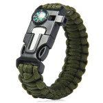 Lot de 4bracelets Paracord - Kits de bracelet de survie Kiwiker de la marque Kiwiker image 1 produit