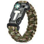 Lot de 4bracelets Paracord - Kits de bracelet de survie Kiwiker de la marque Kiwiker image 3 produit