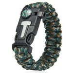 Lot de 4bracelets Paracord - Kits de bracelet de survie Kiwiker de la marque Kiwiker image 4 produit