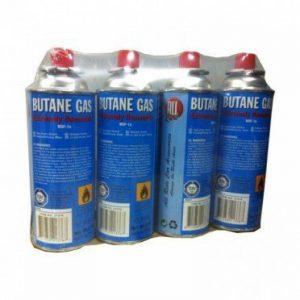 Lot de 4 cartouches de gaz universelle de la marque All Ride image 0 produit