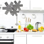 Lot de 9 protections pour poêles et casseroles Wady, 3tailles différentes, pour séparer et protéger les surfaces de votre cuisine pour la maison de la marque Wady image 4 produit