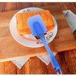 LP Lot de 3Spatule en Silicone Set, durable, attrayant, souple, flexible et doux, résistant à la chaleur, Ustensiles de Cuisine Gadget de cuisson et moule à outil, bleu de la marque LP image 4 produit