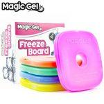 Magic Gel 5 x packs de glace pour boîte de déjeuner et glacières - Petits mais durables - Idéal pour les gamelles d'enfants, les pique-niques, le camping et encore plus (Mise à jour de 2018) de la marque Magic Gel image 1 produit