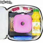 Magic Gel 5 x packs de glace pour boîte de déjeuner et glacières - Petits mais durables - Idéal pour les gamelles d'enfants, les pique-niques, le camping et encore plus (Mise à jour de 2018) de la marque Magic Gel image 2 produit