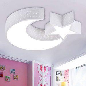 malovecf enfants de Light Boy Plafonnier Créativité Abat-jour Lampe Plafonnier LED pour le salon chambre à coucher salle à manger moderne Xingyue 52 Cm 24w Licht Ändern für Dritten Gang de la marque image 0 produit