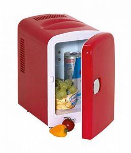 Mini frigo en rouge avec 12 v pour camping autocollantes de voiture de vacances de la marque geschenkartikel-shopping image 0 produit