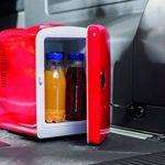 Mini frigo en rouge avec 12 v pour camping autocollantes de voiture de vacances de la marque geschenkartikel-shopping image 1 produit