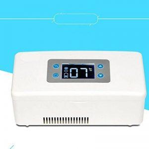 Mini Insuline Boîte Réfrigérée Véhicule Portable Médicaments Réfrigérateur Refroidisseur Intelligent Rechargeable 2-25 ° C de la marque Hongxj image 0 produit
