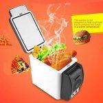 Mini-réfrigérateur 12V portable 2en 1chaud et froid 6litres pour voiture, caravane, maison, bureau, couleur aléatoire de la marque SL® image 1 produit
