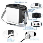 Mini-réfrigérateur 12V portable 2en 1chaud et froid 6litres pour voiture, caravane, maison, bureau, couleur aléatoire de la marque SL® image 3 produit