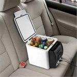 Mini-réfrigérateur 12V portable 2en 1chaud et froid 6litres pour voiture, caravane, maison, bureau, couleur aléatoire de la marque SL® image 5 produit