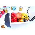 Mini Réfrigérateur 6L DC 12V Réfrigérateur de Voiture 2 en 1 Boîtes de Réfrigération/Incubateur Auto Camping Glacière Seau à Glace avec Sangle portable pour Voiture Maison, Bureau, Hôtel ou Dortoir de la marque Sun image 6 produit