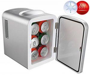 Mini réfrigérateur 2 en 1 avec prise 12 / 230 V - Gris de la marque Rosenstein & Söhne image 0 produit