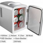 Mini réfrigérateur 2 en 1 avec prise 12 / 230 V - Gris de la marque Rosenstein & Söhne image 1 produit