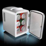 Mini réfrigérateur 2 en 1 avec prise 12 / 230 V - Gris de la marque Rosenstein & Söhne image 2 produit