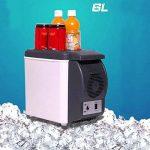 Mini Réfrigérateur 6L DC 12V Réfrigérateur de Voiture 2 en 1 Boîtes de Réfrigération/Incubateur Auto Camping Glacière Seau à Glace avec Sangle portable pour Voiture Maison, Bureau, Hôtel ou Dortoir de la marque Sun image 4 produit