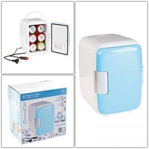 Mini réfrigérateur avec prise 12V (minibar, réfrigérateur pour voiture, glacière de camping, poignée de transport) de la marque Domoclip image 0 produit