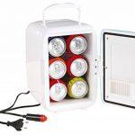 Mini réfrigérateur avec prise 12V (minibar, réfrigérateur pour voiture, glacière de camping, poignée de transport) de la marque Domoclip image 1 produit