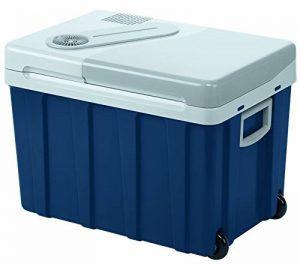 Mobicool W40ACDC Glacière électrique portable équipée de roulettes, 39L, 12-24V/230V, 18°C en dessous de la température ambiante, p380xh420xl560mm, Norme FR, [Classe énergétique A++] de la marque Mobicool image 0 produit