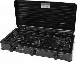 MPM smile-kn-03/1KB Cuisinière à gaz portable, Noir, Taille unique de la marque MPM image 0 produit