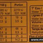 MX3 Adventure Plat lyophilisé lentilles au jambon de la marque MX3 Adventure image 3 produit