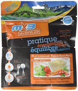 MX3 Adventure Repas lyophilisé riz aux petits légumes de la marque MX3 Adventure image 0 produit
