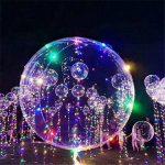 Mystery&Melody Le ballon de Bobo de LED allume des décorations réutilisables de lampes pour des lumières de chaîne lumineuses de fête d'anniversaire de festival (10PCS) de la marque Mystery&Melody image 4 produit