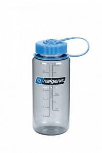 Nalgène Bouteille d'eau Large Bouche, Gris/Couvercle Bleu 0,5 L de la marque Nalgène image 0 produit