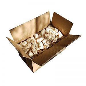 Natural Firelighters 1.3 kg Allume-feu en laine de bois bio 1.3 kg env. 100 pièces. Allume pour cheminée. Idéal pour chauffer la maison de la marque Natural Firelighters image 0 produit