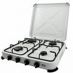NEW NJ4 Gas Stove Cooker 4 Burner Camping Outdoor LPG/Propane 4.65kW with Cover de la marque NJ image 1 produit