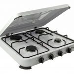NEW NJ4 Gas Stove Cooker 4 Burner Camping Outdoor LPG/Propane 4.65kW with Cover de la marque NJ image 2 produit