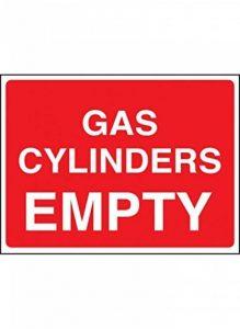 Nouvelle-Calédonie Signes 14440e Cylindre à gaz Panneau vide, 200mm x 150mm, plastique rigide de la marque Caledonia Signs image 0 produit