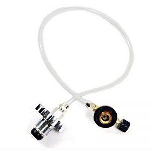 Ocamo Réchaud à gaz Réchaud de camping adaptateur de recharge de propane Brûleur Plat Réservoir Cylindrique Coupler adaptateur Bouteille de la marque Ocamo image 0 produit