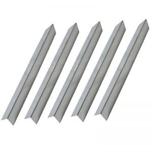 Onlyfire Grill à gaz de rechange en acier inoxydable Barres de surface/plaque de chaleur pour Weber 7537, Lot de 5, 57.4cm de la marque onlyfire image 0 produit
