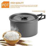 OUTAD Set de Cuisine Antiadhésive Popote en Aluminum Anodisé Pour Camping de la marque OUTAD image 3 produit