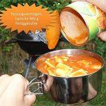 OUTDOOR FREAKZ Camping Kit de Faitout en inox, casseroles et faitouts de la marque OUTDOOR FREAKZ image 5 produit