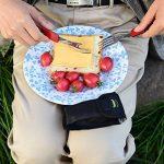 OUTDOOR FREAKZ Couverts de camping en acier inoxydable avec sac pliable en néoprène de la marque OUTDOOR FREAKZ image 3 produit
