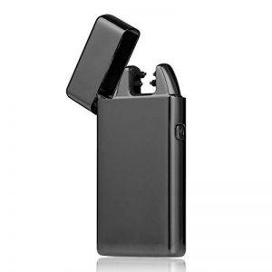 PADGENE 2016nouvelle USB Arc électrique rechargeable allume cigare, Flamless coupe-vent Briquet Torche à cigares sans gaz avec câble USB pour cadeau d'anniversaire de la marque PADGENE image 0 produit