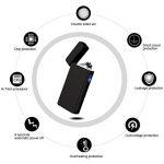 PADGENE Briquet Arc Électrique Allume-Feu Électronique USB Rechargeable Étanche Coupe-Vent Sans Gaz Sans Flamme de la marque PADGENE image 2 produit