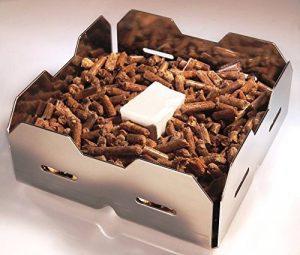 Panier d'allumage pour allumer un feu dans un poêle à bois avec granules de bois – Génération 4.0 de la marque SmartGoods4U image 0 produit