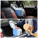 PARAMITA réfrigérateur de voiture 12 V Contenance de 6L&7.5L Camping Glacière portable de voiture réfrigérateur Cooler et chauffe réfrigérateur électrique pour voiture camion Bateau de voyage (Bleu-7.5L) de la marque PARAMITA image 4 produit