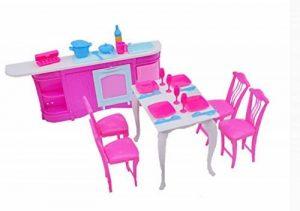 Pas cher Doll House Meubles de cuisine Set-ensembles de chambre de la marque Blancho image 0 produit