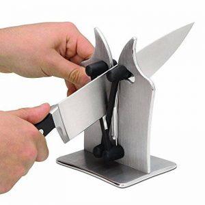Pawaca Specialty ustensile de cuisine, Polit dentelée, outil de l'affûtage en quelques secondes, couteau de cuisine Sharpener By| Aiguiseur couteau dentelé de la marque Pawaca image 0 produit