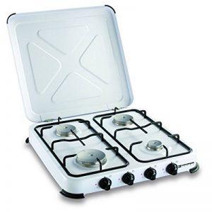 Plaque de cuisson gaz portable 4 feux kemper- 4650 W - blanc laqué de la marque Kemper image 0 produit