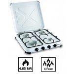 Plaque de cuisson gaz portable 4 feux kemper- 4650 W - blanc laqué de la marque Kemper image 1 produit