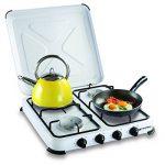 Plaque de cuisson gaz portable 4 feux kemper- 4650 W - blanc laqué de la marque Kemper image 2 produit