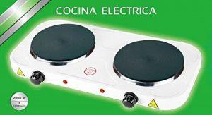Plaque de cuisson électrique 2 feux 2 000W de la marque TU COMPRA PERFECTA 2017 image 0 produit