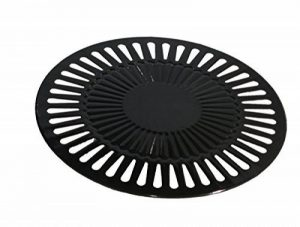 Plaque de gril pour barbecue type barbecue à gaz plancha, 32 cm de la marque amara-global image 0 produit