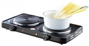 Plaque électrique compacte - 2 feux 2000 W de la marque Rosenstein & Söhne image 0 produit